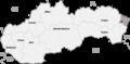 Map slovakia snina.png
