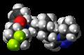 Maraviroc molecule spacefill.png
