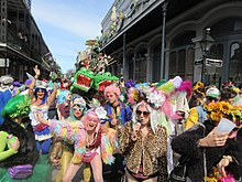 9cfd15239f Revelers on Royal Street in the French Quarter