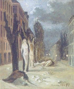 Marie Luplau - Marie Luplau, Symbolistisk Gadeparti (1898)