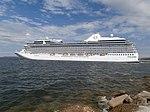 Marina departing Port of Tallinn 7 July 2018.jpg
