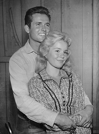 "Dick Powell's Zane Grey Theatre - Mark Goddard and Tuesday Weld in episode ""The Mormons"" (1960)"