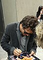 Mark Ruffalo takes time to sign Autographs for his fans out side of the Tiff '08 press conference for What Doesnt Kill You (2843236499).jpg