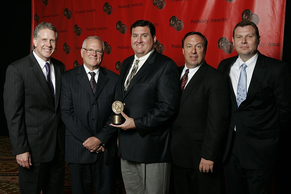 Mark Smith and the WFAA-TV Team at the 67th Annual Peabody Awards