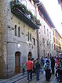 Markina, torre Antxia y palacio Ansotegi.JPG