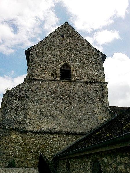 Marne Cormoyeux Eglise Saint-Clement Clocher Cote Nord 22062016