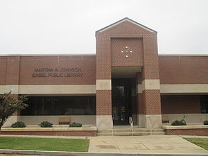 Idabel, Oklahoma - Martha A. Johnson Library in Idabel