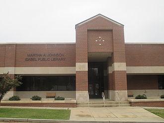 Idabel, Oklahoma - Martha A. Johnson Library in Idabel