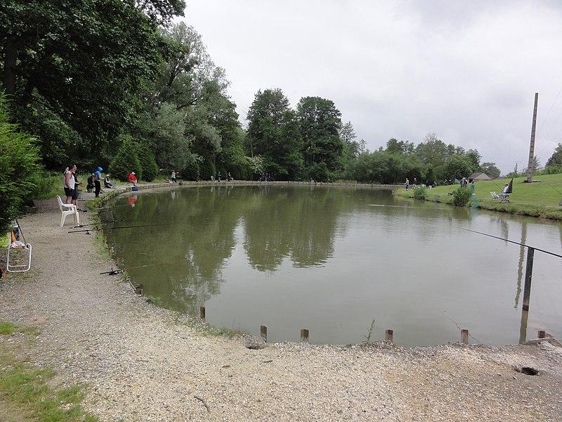 Martigny (Aisne) étang de pêche