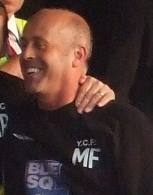 Martin Foyle - Foyle as York City manager in 2009