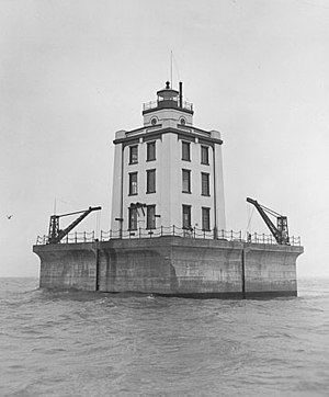 Poe Reef Light - Image: Martin Reef Light Station (Mackinac County, Michigan)