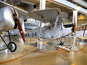 Martinsyde Buzzard in the Aviation Museum of Finland