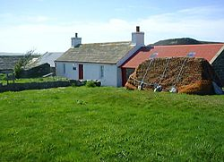 Mary Anne's Cottage Museum, eit museum for husmannslivet i West Dunnet
