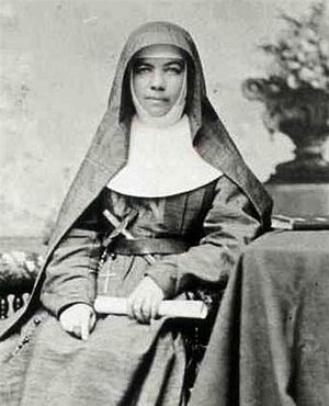 Catholic education in Australia - Mary Mackillop established an extensive network of schools for the poor and is Australia's first canonised saint of the Catholic Church