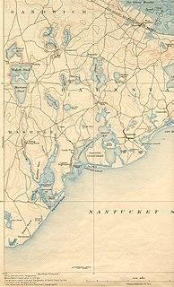 Mashpee River river in the United States of America