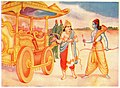 Matali invites Rama to raid on Indra's Chariot.jpg