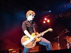 Matt Thiessen - Thiessen performing with Relient K in 2006