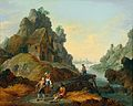 Matthias de Visch - A river landscape with anglers.jpg
