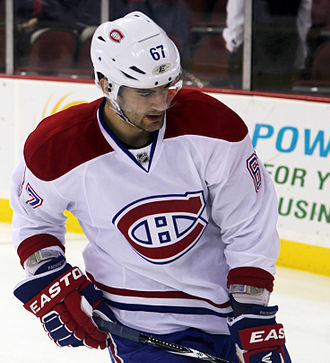 Max Pacioretty - Pacioretty in 2012 with the Montreal Canadiens.