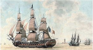 Honoré Joseph Antoine Ganteaume - The 74-gun ''Trente-et-un Mai'', which Ganteaume commanded between 1794 and 1795