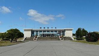 Railway stations in Tanzania - The Mbeya Station.
