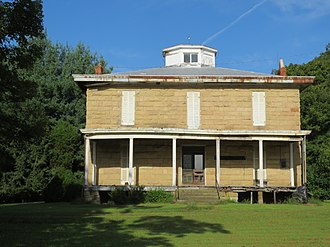 National Register of Historic Places listings in Mason County, West Virginia - Image: Mc Causland House 009