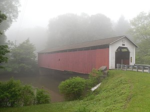 Mahaffey, Pennsylvania - McGees Mills Covered Bridge