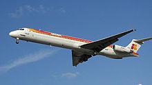 Un MD-88 dell'Iberia