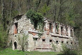 Medija Castle - Image: Medija Castle Slovenia stable
