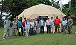 Members of the Joint Task Force-Bravo U.S. Southern Command Situational Assessment Team element and the U.S. Embassy, Managua, Community Emergency Response Team.jpg