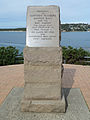 Memorial plaque, Bass and Flinders Point, Cronulla, New South Wales (2010-07-19) 02.jpg