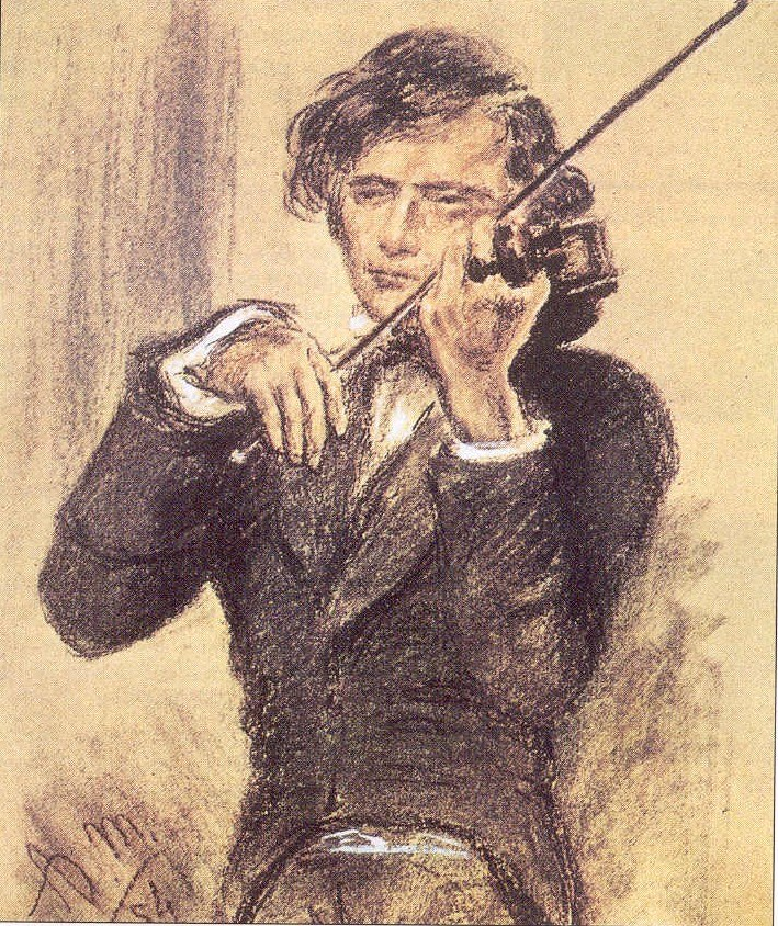 Menzel 1853 Joseph Joachim