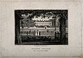 Merton College, Oxford; panoramic view from Christ Church wa Wellcome V0014133.jpg