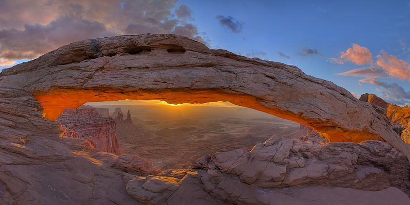 Mesa Arch, Canyonlands