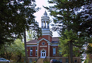 Mount Carroll, Illinois - Metcalf Hall Shimer Campus-Campbell Center