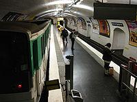 Metro Paris - Ligne 3 - station Porte de Champerret 02.jpg