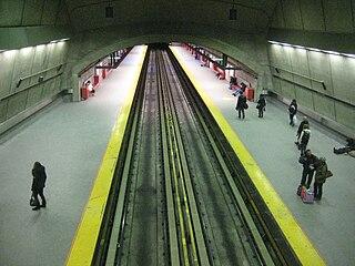 Radisson station Montreal Metro station