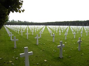 Meuse-Argonne American Cemetery and Memorial - Image: Meuse Argonne American Cemetery 081710