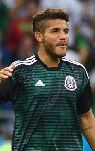 Jonathan dos Santos - Jonathan with Mexico at the 2018 FIFA World Cup
