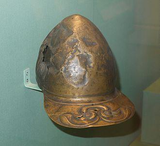 Meyrick Helmet - Image: Meyrick Helmet feb 2011