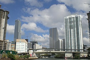 Miami River (Florida) - The Miami River in 2007