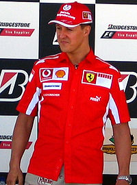Michael Schumacher, 2005.
