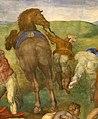 Michelangelo, conversione di saulo, 1542-45, 12.jpg