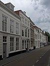 foto van Huis met geverfde lijstgevel, gedateerd door jaartalankers 1649
