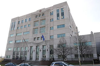 Middlesex County, Connecticut - Image: Middletown, CT Raymond E Baldwin Courthouse 01