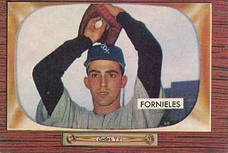 Mike Fornieles Cuban baseball player