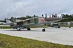 Mikoyan-Gurevich MiG-23UB '15 red' (38124142931).jpg