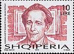 Milan Šufflay 2013 stamp of Albania.jpg