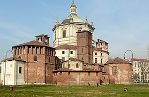 Basilica of San Lorenzo, Milan - The church's exterior