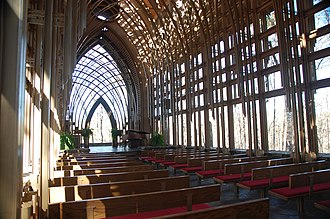 Mildred B. Cooper Memorial Chapel - Image: Mildred B Cooper Memorial Chapel inside